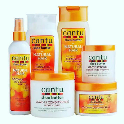 Cantu Shea Butter Professional Hair Product Range- For Natural Hair - Afro Care