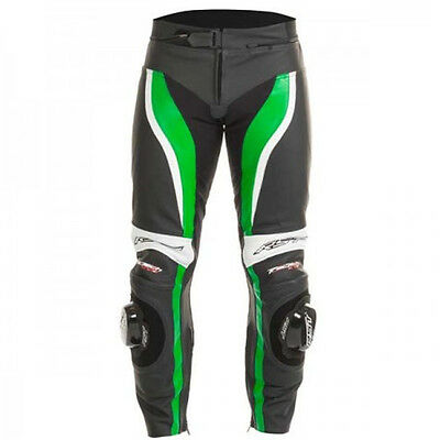RST Tractech Evo II 1444 Leather Motorcycle Trousers Green