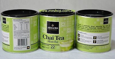 1 x Arkadia Matcha Green Tea Latte 440g DELIVERY INCLUDED ANYWHERE IN AUSTRALIA