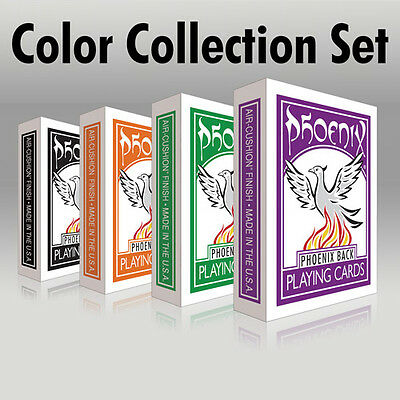 Carte Phoenix Color Collection - Set di 4 mazzi