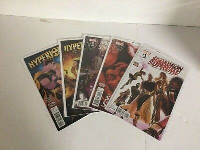Squadron Supreme 1 2 8 Hyperion 1 5 Lot Set Run Nm Near Mint Marvel Comics