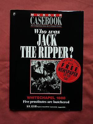 Murder Casebook - Jack The Ripper - special issue with newspaper of the day