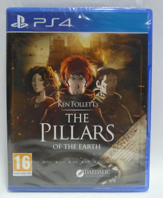 Ken Follet The Pillars Of The Earth - Ps4  - Nuovo - New Sealed Pal