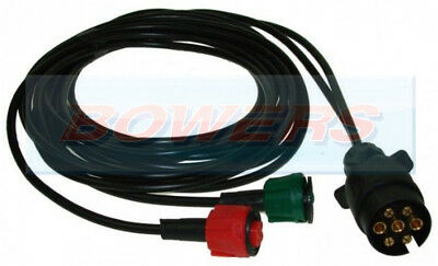 6M 6 Meter Quick Fit Wiring Harness For Radex Indespension Rear Trailer Lights