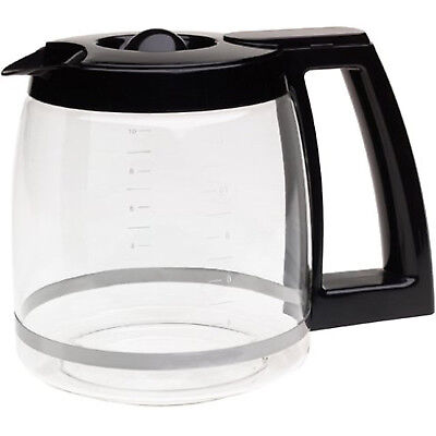 Replacement Coffee Maker Machine Glass Carafe Jug for Cuisinart DCC-1200PRC