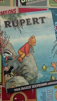 Rupert the Bear HB Annual Bestall Daily Express Publication 1969 clipped No34