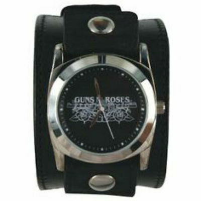 Official Limited QTY GNR Guns N Roses Watch Leather Wrist Band