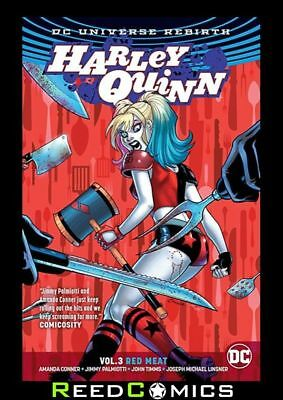HARLEY QUINN VOLUME 3 RED MEAT GRAPHIC NOVEL Paperback Collects (2016) #14-21