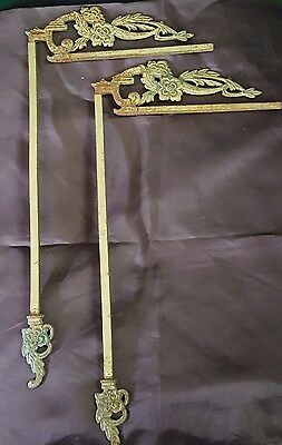 Old Vintage Antique Cast Swing A Way Drapery Curtain Rods