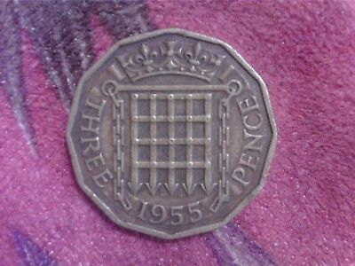 Great   Britain    Threepence   1955