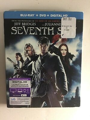 Seventh Son (Blu-ray Disc, 2015, 2-Disc) NEW w/slipcover