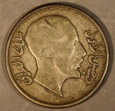 1931 Iraq 50 Fils, Pleasant Quality                 **FREE U.S SHIPPING **