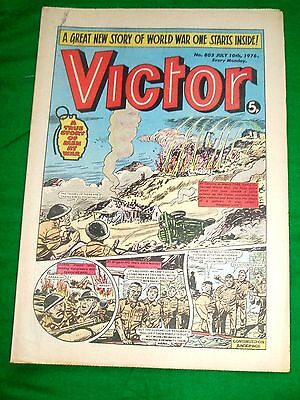 Gurkhas & Essex Regiment At Cassino Ww2  Cover Story In Victor Comic 1976
