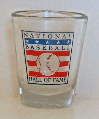 Shot Glass:  National Baseball Hall Of Fame