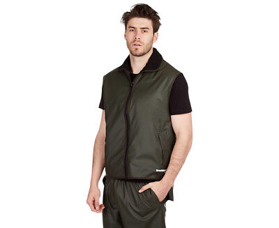 Huski Men's Farmer's Vest - Forest
