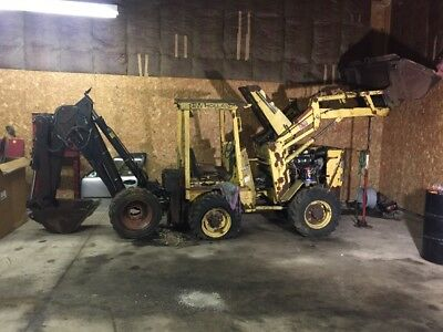 1986 New Holland General LB620 Backhoe Articulating Diesel Tractor