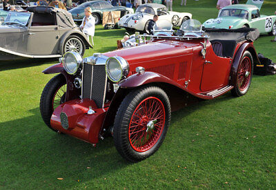 1933 MG Other  1933 MG MAGNA L-TYPE Tourer - Very Rare - Stunning Restoration