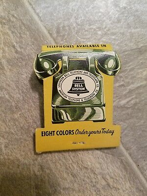 Bell system Matchbook collectible