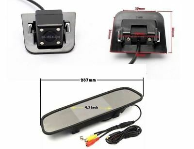 """For TOYOTA PRIUS 2012 Car Backup Camera  & """"4.3'' Rear View Mirror Monitor"""
