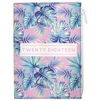 Otto A5 Canvas WTV 2018 Diary 144 Page Palms
