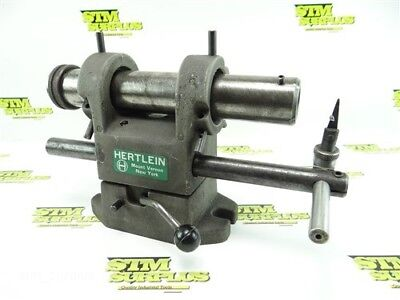 Hertlein End Mill Sharpening Fixture W/ Stop Made In Usa
