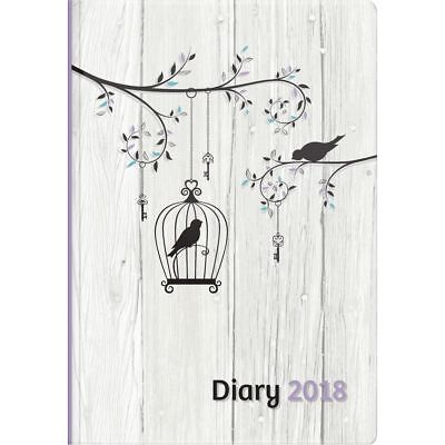 Upward Philosophy A5 Day to Page 2018 Diary