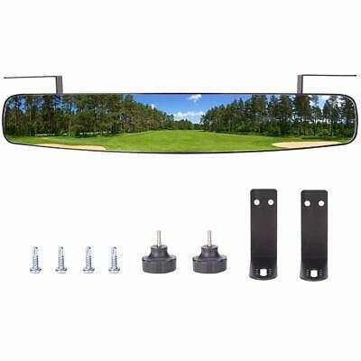 "Golf Cart 16.5"" Extra Wide Panoramic Rear View Mirror for EZGO Club Car Yamaha"