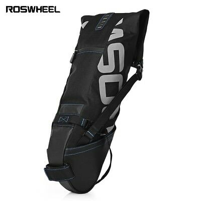 ROSWHEEL 10L Bicycle Cycling Waterproof Pannier Bag Saddle Rear Seat Carrie