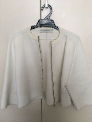 Scanlan Theodore womens jacket stretchable - white SIze S to M