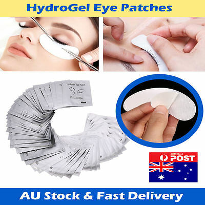 Eyelash Extension Hydrogel Under Eye Gel Pad Patch Lint free 10 to 2000 pairs