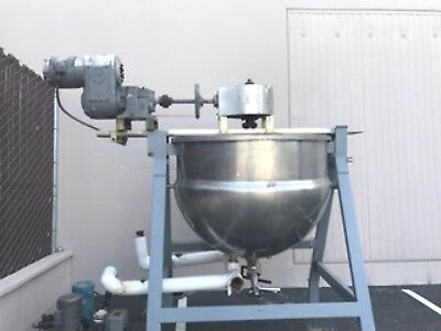 LEE 250 Gallon Steam Jacketed Kettle Double Motion Mixer