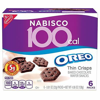 Oreo 100-Cal Thin Crisps Snack Packs (05344)