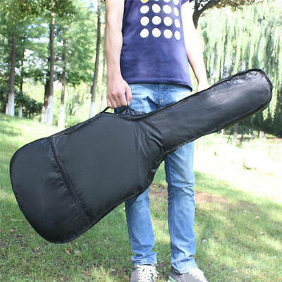 38'' 41'' Waterproof Black Classical Acoustic Guitar Bag Case Padded Protective