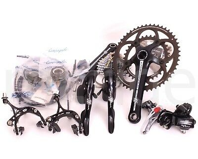 Campagnolo Athena Bicycle Groupset 2x11S,50/34t,175mm,BB386,12-29t,Clamp-on