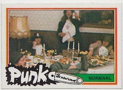 Normaal  -  1977 Dutch Punk Trading Card # 30