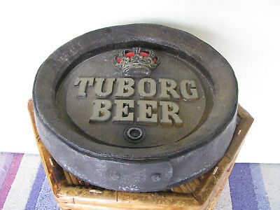 Tuborg Beer Mancave Wall Plague