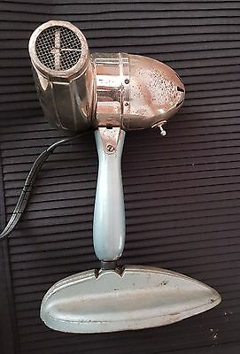 Beautiful Rare Antique Vintage Hair Blow Dryer With Stand