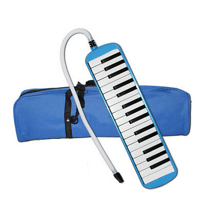 32 Keys Piano Keyboard Style Melodica Harmonica Lovers Musicians Gift Blue