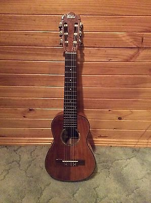 Guitarlele/guitalele - All solid hawaiian koa guitar / 6 string ukulele
