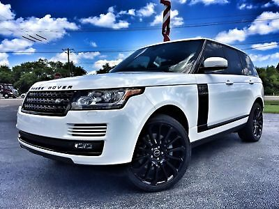 """2014 Land Rover Range Rover SUPERCHARGED REAR ENT 22""""S PANO UPERCHARGED*22"""" AUTOBIOGRAPHY WHEELS*MERIDIAN*PANO*BLACK TRIM*WE FINANCE*FLA"""