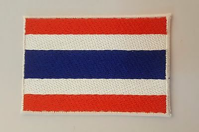 Thailand National flag Embroidery Needle craft Decor by sewing or ironing patch