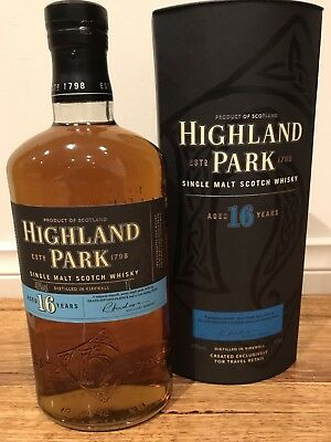 Highland Park 16 Year Old Whisky 1000ml RARE Discontinued