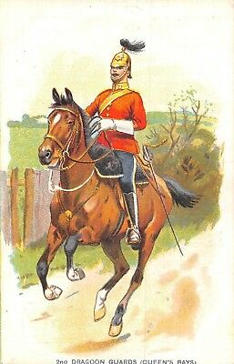 POSTCARD   MILITARY    2nd  Dragoon  Guards  (  Queen's  Bays )