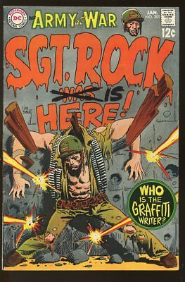 Our Army At War #201 Very Good Sgt. Rock 1969 Dc Comics