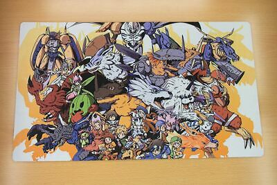 D659 FREE MAT BAG Digimon Trading Card Game Playmat Desk Mat Large Mouse Pad