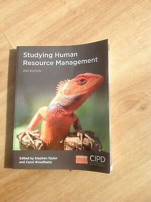 CIPD Studying Human Resource Management Book Stephen Taylor Carol Woodhams