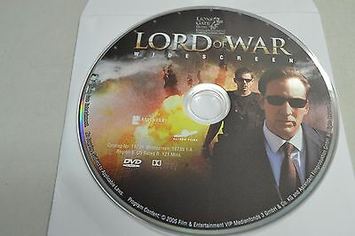 Lord of War (DVD, 2006, 1-Disc Special Edition)Disc Only Free Shipping 18-43