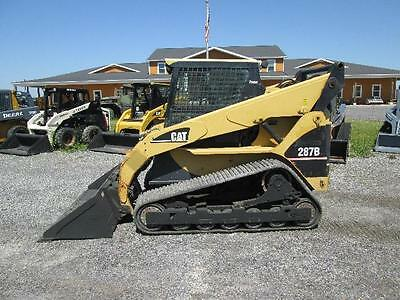 Cat 287B Skid Steer