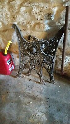 Cast Iron Bench Ends Salvage Reclaimed
