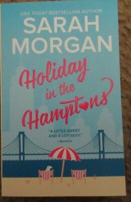 Holiday in the Hamptons by Sarah Morgan (2017, Paperback) New Romance